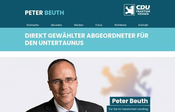 Vorschau von www.unserabgeordneter.de, Beuth, Peter (MdL)