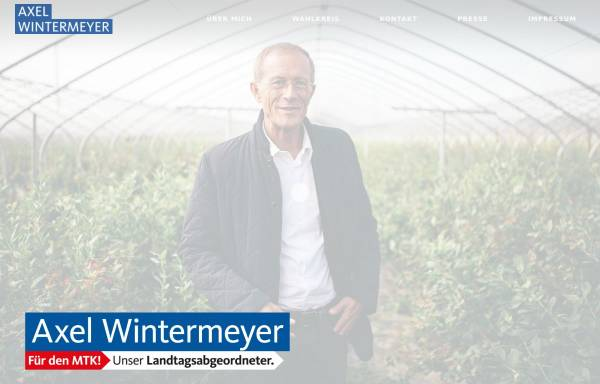 Vorschau von www.axel-wintermeyer.de, Wintermeyer, Axel (MdL)