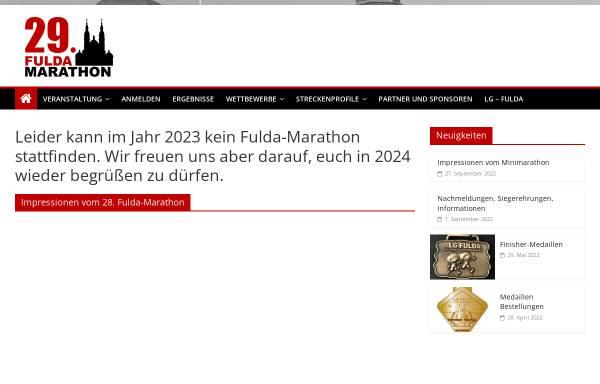 Vorschau von www.fulda-marathon.de, Fulda-Marathon