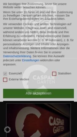 Vorschau der mobilen Webseite www.sherry-und-port.de, Sherry&Port