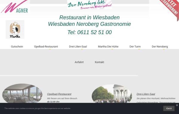 Vorschau von www.wagner-gastronomie.de, Wagner Gastronomie