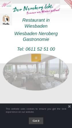 Vorschau der mobilen Webseite www.wagner-gastronomie.de, Wagner Gastronomie