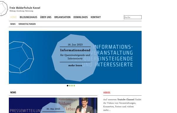 Vorschau von www.waldorfschule-kassel.de, Freie Waldorfschule Kassel