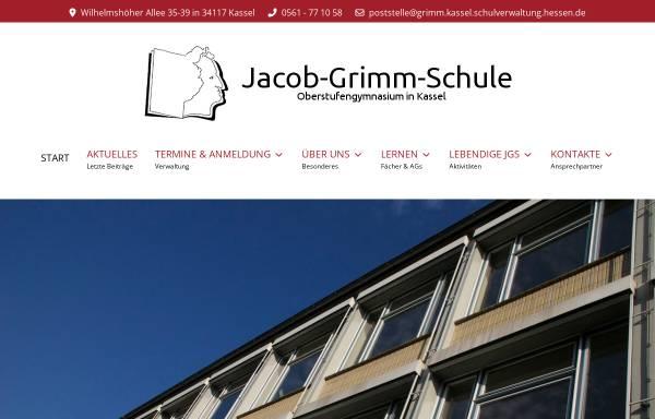 Vorschau von www.jgs-kassel.de, Jacob-Grimm-Schule Kassel