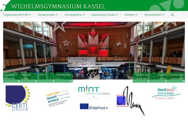 Vorschau von www.wgkassel.de, Wilhelmsgymnasium