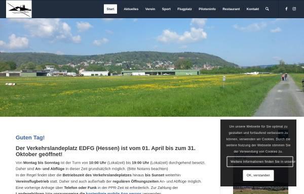 Vorschau von www.aeroclub-gelnhausen.de, Aero-Club Gelnhausen e.V.