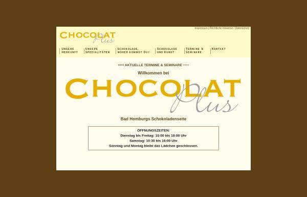 Vorschau von www.chocolat-plus.de, Chocolat Plus