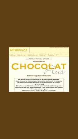Vorschau der mobilen Webseite www.chocolat-plus.de, Chocolat Plus