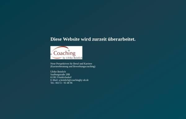 Vorschau von coachingby-ub.de, Coaching by Ulrike Beinlich