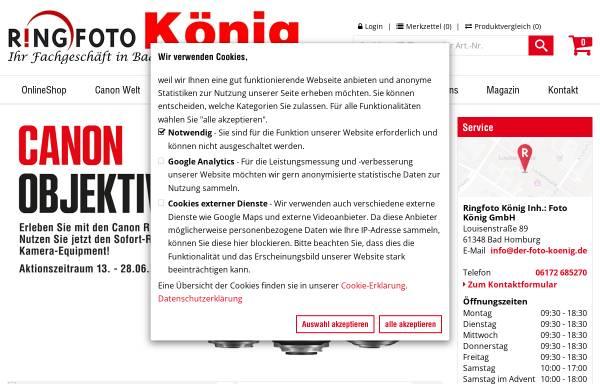 Vorschau von www.der-foto-koenig.de, Foto König