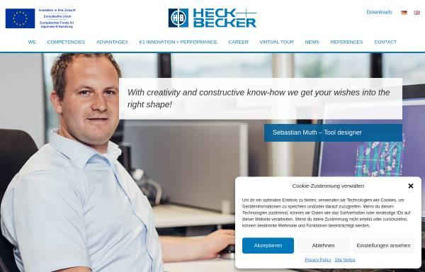 Vorschau von www.heck-becker.com, Heck & Becker GmbH & Co. KG
