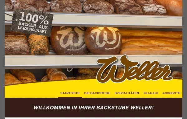 Vorschau von www.backstube-weller.de, Bäckerei & Konditorei Hartmut Weller