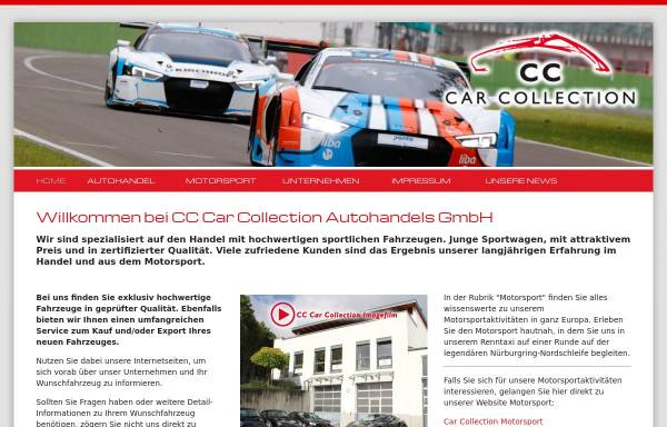 Vorschau von www.carcollection.de, CC Car Collection Autohandels GmbH