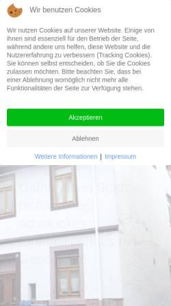 Vorschau der mobilen Webseite www.aj-immo.de, Albert Jonas Immobilien