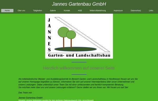 Vorschau von www.jannes-gartenbau.de, Jannes Gartenbau GmbH