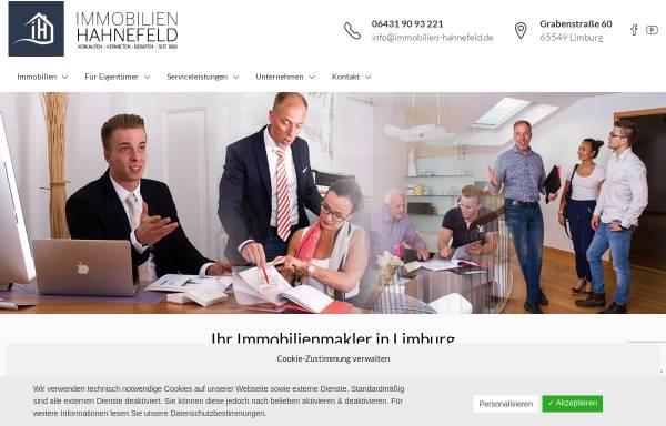 Vorschau von immobilien-hahnefeld.de, Immobilien Frank Hahnefeld