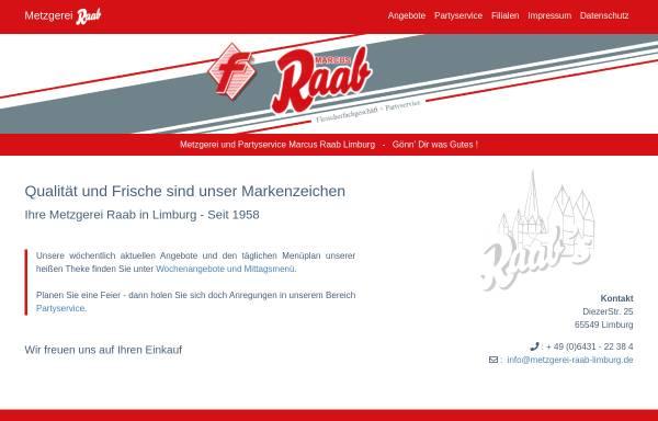 Vorschau von www.metzgerei-raab-limburg.de, Marcus Raab