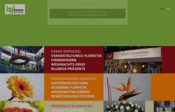 Vorschau von www.blumen-gernandt.de, Blumen-Gernandt