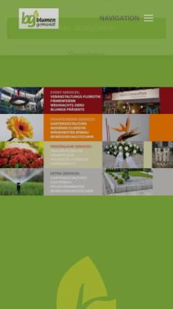 Vorschau der mobilen Webseite www.blumen-gernandt.de, Blumen-Gernandt