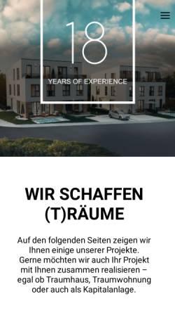 Vorschau der mobilen Webseite www.drops-raumgestaltung.de, Drops - Raumgestaltung GmbH