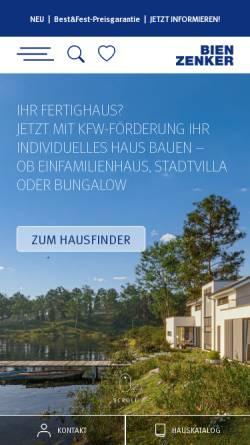 Vorschau der mobilen Webseite www.bien-zenker.de, Bien-Zenker