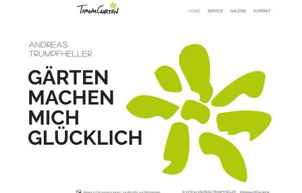 Vorschau von www.traumgarten-online.de, Traumgarten GmbH