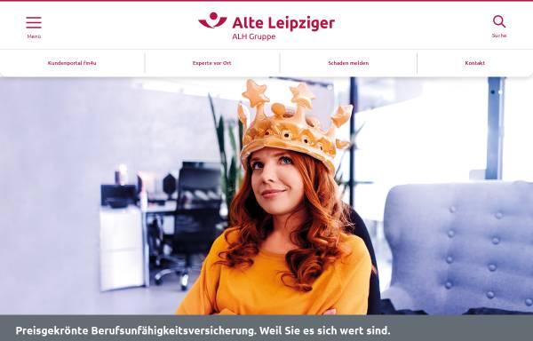 Vorschau von www.alte-leipziger.de, Verbund Alte Leipziger-Hallesche