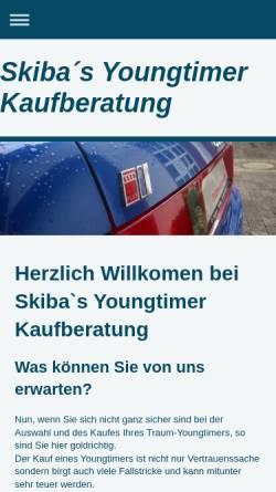 Vorschau der mobilen Webseite www.skiba-tuning.de, Skiba Tuning