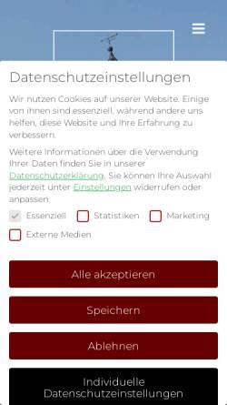 Vorschau der mobilen Webseite www.weckler.de, Weckler & Berg