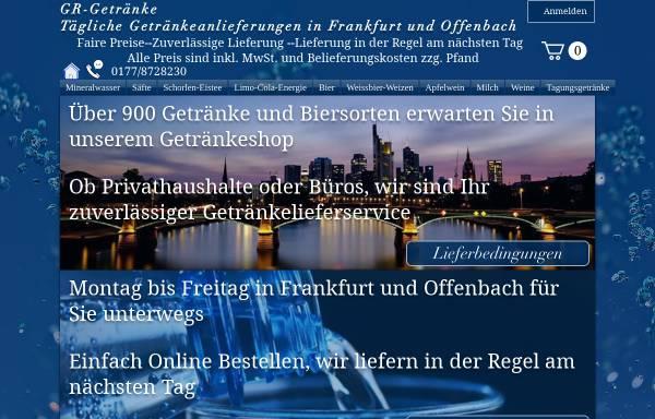 GR-Getränke: Dienstleistungen, Wirtschaft gr-getraenke.de