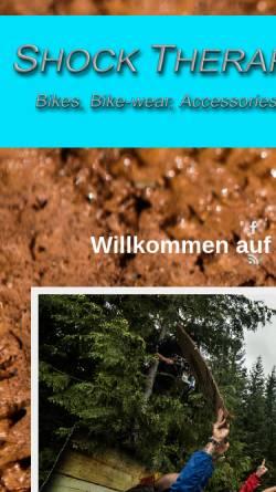 Vorschau der mobilen Webseite www.shock-therapy.com, Shock Therapy - Inh. Hans Scherf