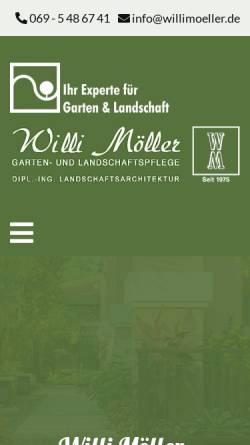 Vorschau der mobilen Webseite www.willimoeller.de, Möller, Willi