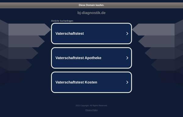 Vorschau von www.bj-diagnostik.de, bj-diagnostik GmbH
