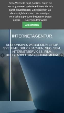 Vorschau der mobilen Webseite www.fxvision.de, Fxvision