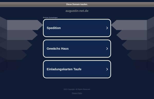 Vorschau von www.augustin-net.de, Herbert Augustin