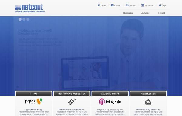 Vorschau von www.netcont.de, NetCont