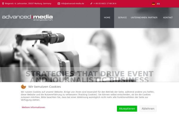 Vorschau von www.advanced-media.de, Advanced Media AG