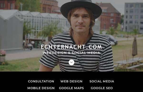 Vorschau von www.echternacht.com, Echternacht New Media