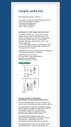 Vorschau der mobilen Webseite www.mjml.de, Jung Concept