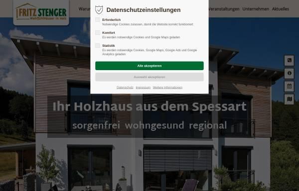 Stenger Holzbau fritz stenger gmbh in heimbuchenthal holzbauweise fertigbau