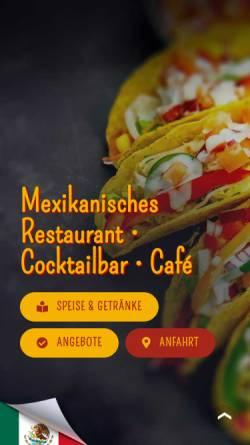 Vorschau der mobilen Webseite acapulco-berlin.de, Acapulco - Restaurantbetrieb Marabouni