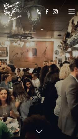 Vorschau der mobilen Webseite www.el-borriquito.de, El Borriquito