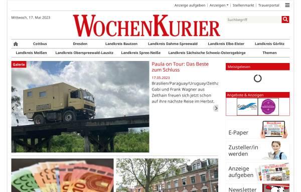 Vorschau von www.wochenkurier.info, WochenKurier