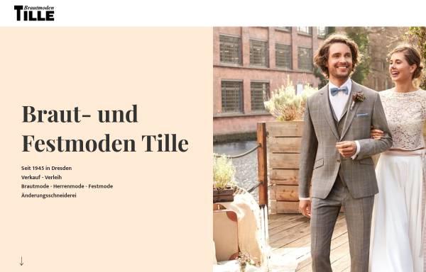 Vorschau von www.brautmoden-dresden.de, Tille Brautmoden