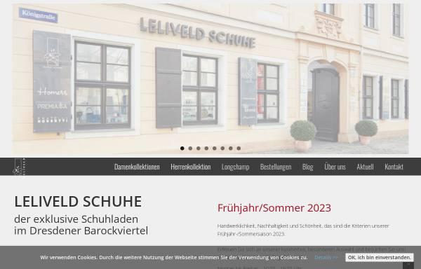 Vorschau von www.leliveld-schuhe.de, Leliveld-Schuhe