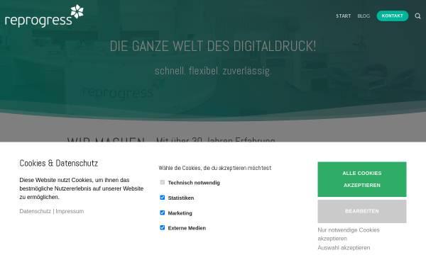 Vorschau von www.reprogress.de, reprogress GmbH