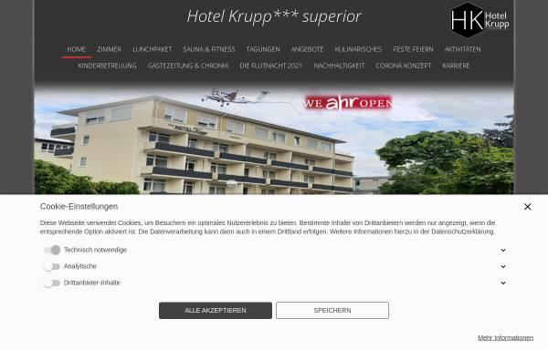 Vorschau von hotel-krupp.de, Hotel Krupp