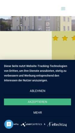 Vorschau der mobilen Webseite www.zum-stern-baumholder.de, Hotel zum Stern