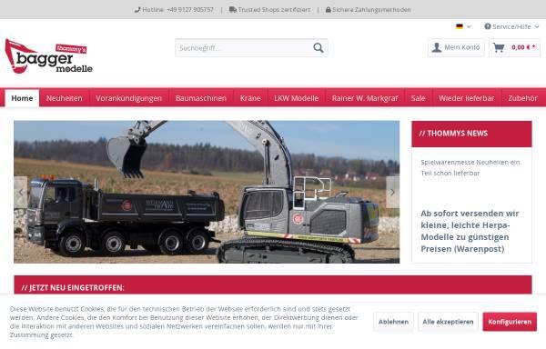 Vorschau von www.thommys-modellshop.de, Thommys Modellshop - Luise Petscheny