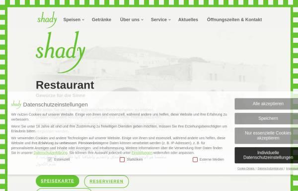 Vorschau von www.shady-leipzig.de, shady cafe - bar - restaurant